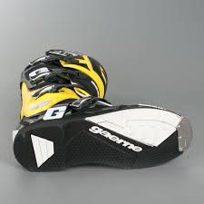 gaerne sg12 motocross boots gaerne sg 12 ltd boots yellow black quick dispatch 24mx
