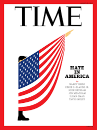 American Flag In Text Depiction Of Trump In American Flag Giving Salute Is