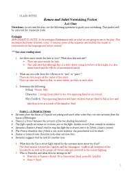 answer key act i study guide questions characters in romeo and