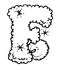 f printable snow alphabet coloring pages winter coloring pages