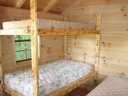 rustic bunk bed plans for creative bedroom alocazia wooden beds