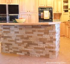 kitchen island using airstone for home pinterest