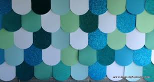 Photo Backdrops For Parties A Mermaid Party