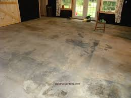 Concrete Staining Pictures by How To Make A Concrete Floor Look Like Limestone Garden And A