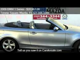 2009 bmw 128i convertible for sale 2009 bmw 1 series 128i convertible for sale in st petersbur