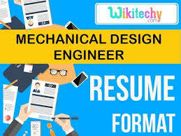 Resume Format For Mechanical Resume Mechanical Design Engineer Resume Sample Resume