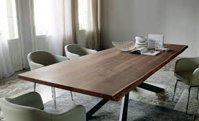Italy Dining Table Il Decor Boston Spyder Wood Dining Table By Cattelan Italia