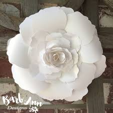 Flower Backdrop White And Cream Large Paper Flower Backdrop Barb Ann Designs