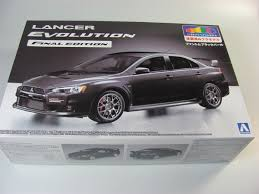 mitsubishi lancer drawing mitsubishi lancer cz4a phantom black pearl aoshima car model