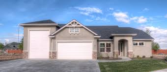 Home Plans With Rv Garage by Home Sunrise Homes Of Idaho