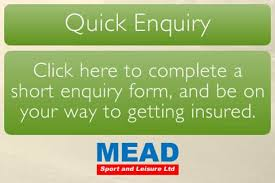 specialist event insurance cover mead sport leisure limited
