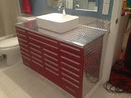Unique Vessel Sink Vanities Craftsman Tool Box Vanity With Vessel Sink Unique Vanities