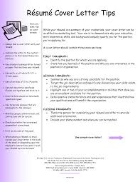 cover letter sample of cover letter for resume sample of cover
