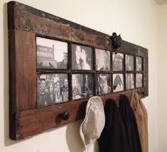 old door as coat rack diy for life