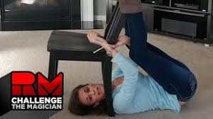 Challenge Do You Tie It Up Emily From Mo Cable Tie Chair Escape Challenge The Magician