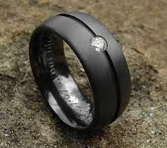 mens wedding rings uk mens engagement rings diamond set black ring mens black