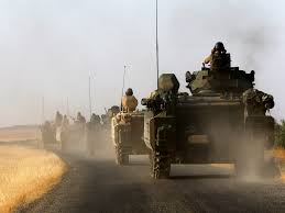 Kurds Discovered An Isis Tank And Did Something Awesome To by At Least 24 Dead As Turkish Troops Clash With Isis In Syria Jpg