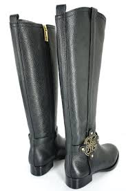 womens black leather boots size 9 burch boots burch amanda boots size 5 black