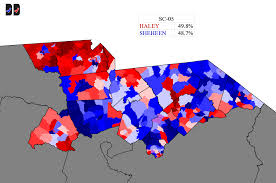 1996 Presidential Election Map by South Carolina 5th Special Election Background And Outlook