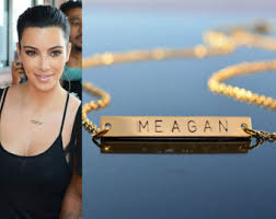Name Plates Jewelry Gold Name Plate
