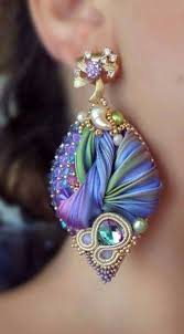 shibori ribbon 69 best shibori ribbon jewelry images on earrings