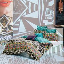 cleo duvet cover set by kas at queenb