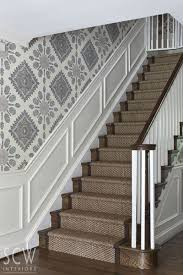 Staircase Wall Decorating Ideas 23 Pretty Painted Stairs Ideas To Inspire Your Home Washington