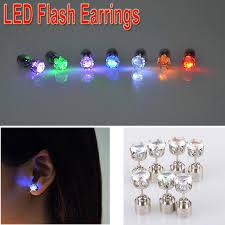 led earrings 2018 cool fashion unique design led earrings light light up bling
