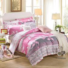 Linen Bedding Sets Reactive Printing Bedding Set 100 Cotton King Size Bed Linen