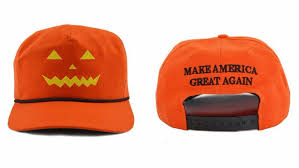 trump is selling 45 u0027make america great again u0027 pumpkin hats for