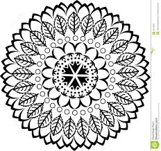mandala ornament stock vector image 48110822