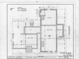 foundation framing plan leecraft house beaufort north carolina
