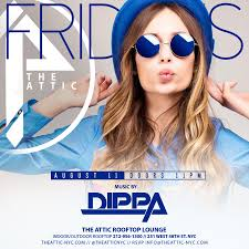 labor day weekend rooftop party friday night at the attic at the
