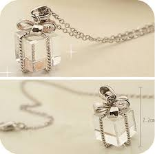 long chain bow necklace images Exquisite charm chain statement bib chunky collar pendant necklace jpg