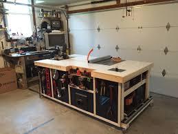 tips modern garage workbench ideas with black metal storage
