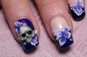 Light Purple Nail Designs 14 Cute And Easy Flower Nail Designs