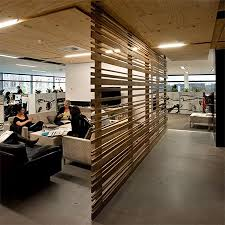 interior partitions for homes wood beam plank partition room divider for open plan living space