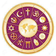 World Religions Map World Religions Surrounding Earth Map Islam Christianity