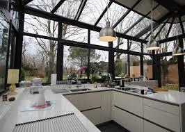 cuisine sous veranda réalisation d une cuisine design haut de gamme sous véranda région