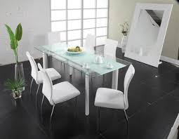 Sleek Glass Dining Tables - Glass for kitchen table