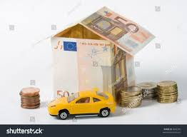 euro house finance house made money euro car stock photo 2602245 shutterstock