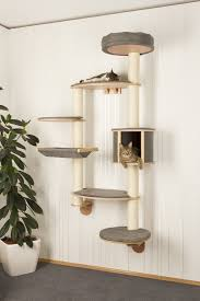 Wall Mount Pet Feeder Wall Mounted Cat Tree Git Designs