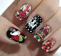 madamlucks beauty journey ugly christmas sweater nail art tutorial