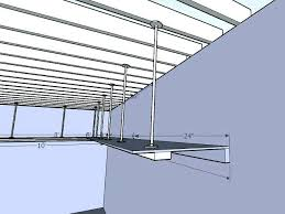garage storage lift ceiling hoist system for bicycle