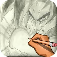 draw dragon ball goku u2014 app trailer