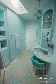teenage girls bathroom design on chicago north shore