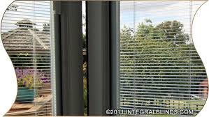 Doors With Internal Blinds Bifold Doors With Integral Blinds Slideshow