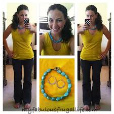 What Colors Go With Yellow by Ootd Mustard U0026 Turquoise U2013 Style Me Thrifted