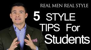 5 style tips for college student how the university man can
