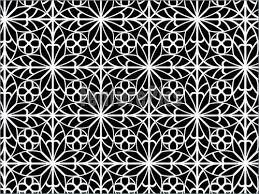 abstract patterns ornamental black and white pattern stock